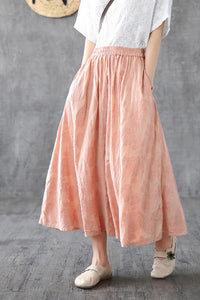 pin casual skirt
