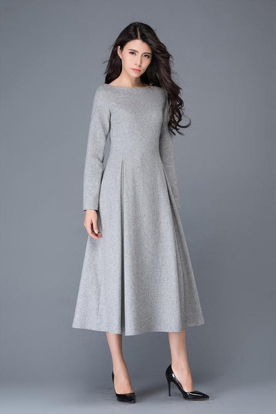 winter wool dress