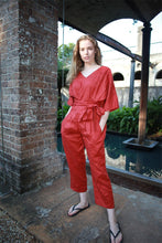 Load image into Gallery viewer, Washed long linen overall, Linen romper, Linen Jumpsuit Women, Oversized Jumpsuit, Linen jumpsuit, Loose linen Jumpsuit C1498