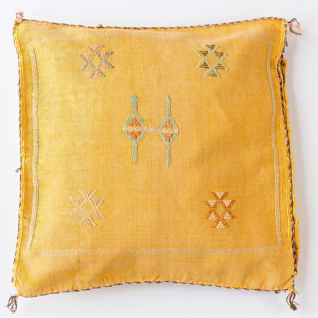 Cushion Yellow - Cushions Ethnic