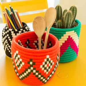 Decorative Wicker Basket
