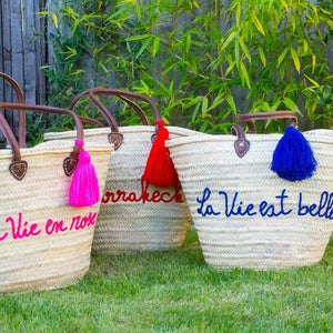French Shopping Basket