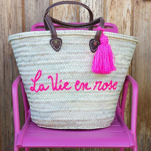 French Basket - French Shopping Basket