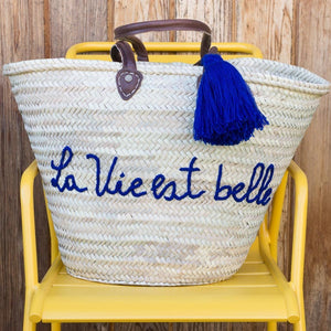 French Shopping Basket - French Basket