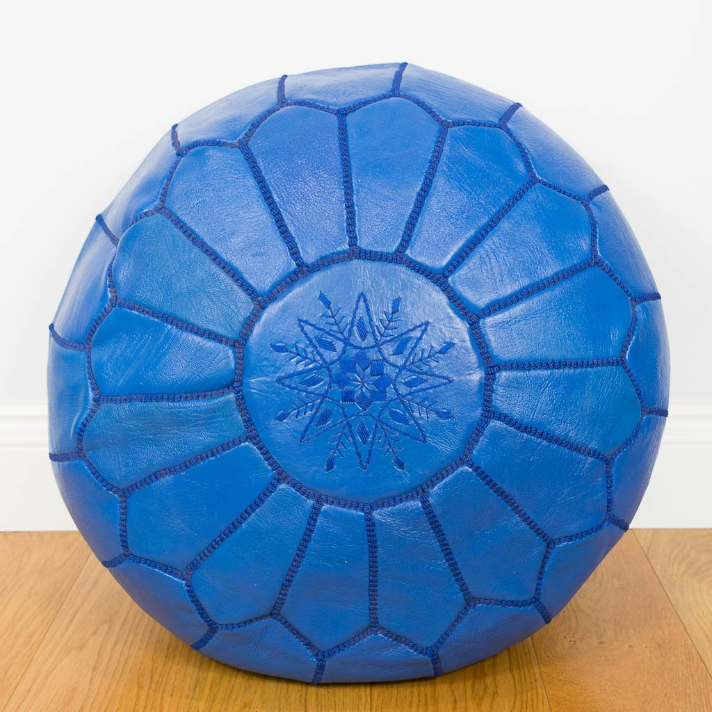Pouf Leather