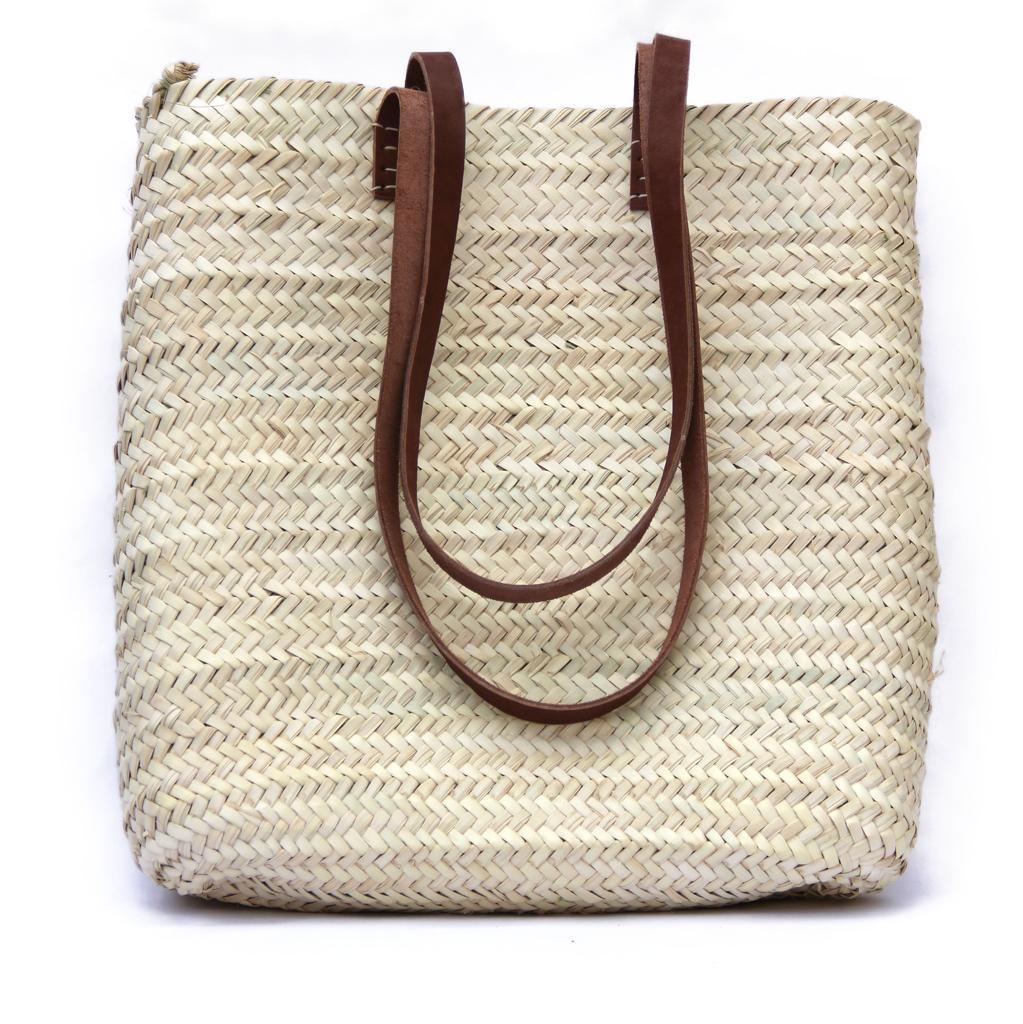 Straw Bag Tote - Woven Tote Bag