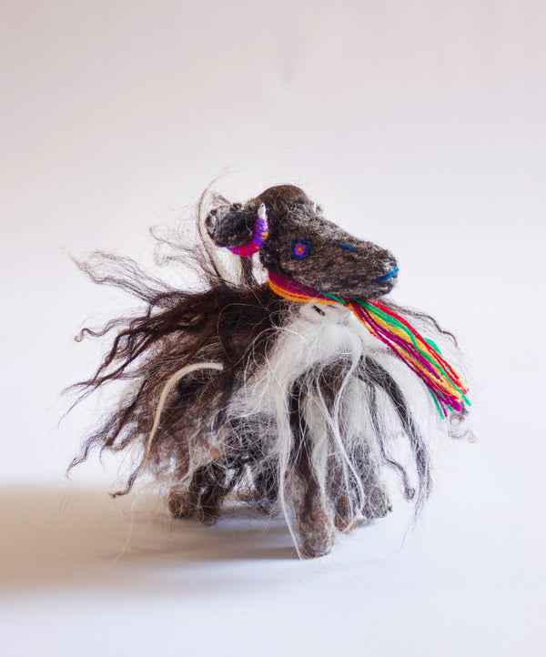Hand-stitched Sheep Toy