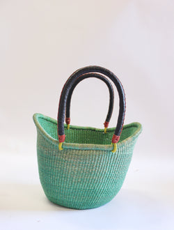 Baba Tree Dip Dye Basket Green