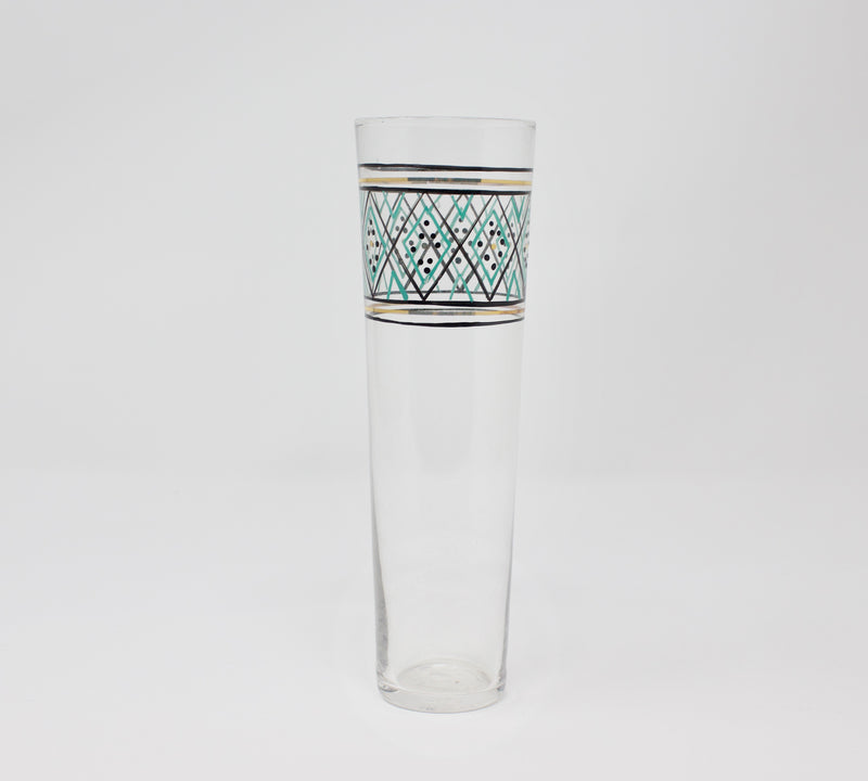 Roost Alexandria Turquoise Champagne Glass
