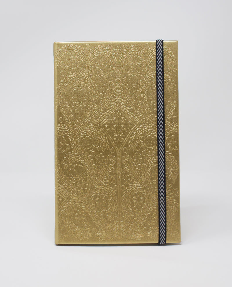 Christian Lacroix Paseo Gold Notebook