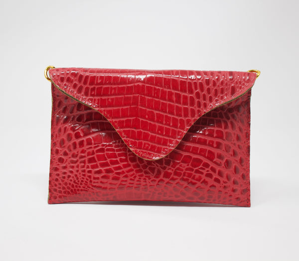 JJ Winters Snake Crossbody Purse