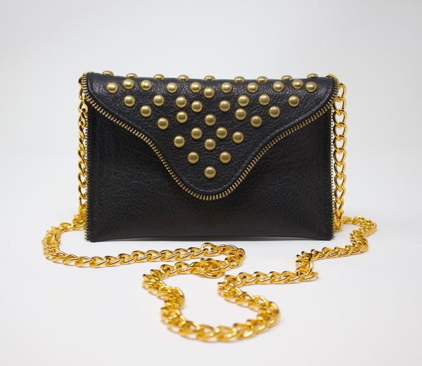 JJ Winters Studded Crossbody Purse