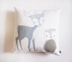8Mood Deer & Owl Pillow