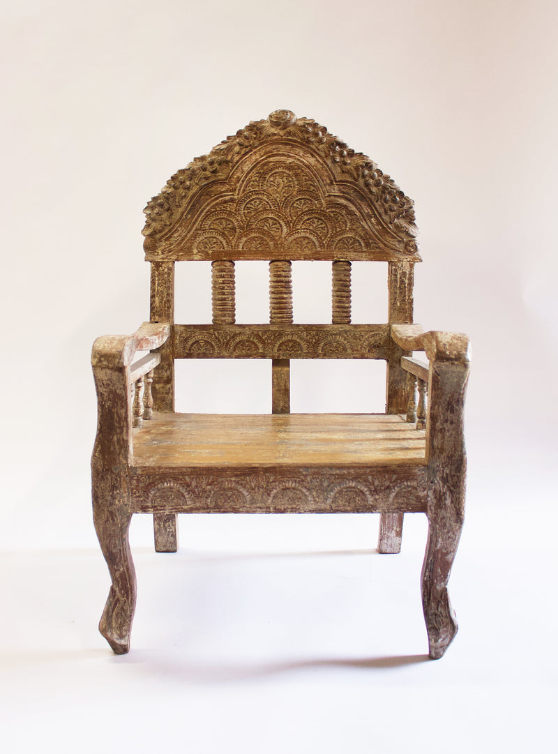 Couture Culture Carved Chair