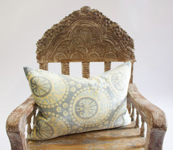 IKAT Grey Pillow
