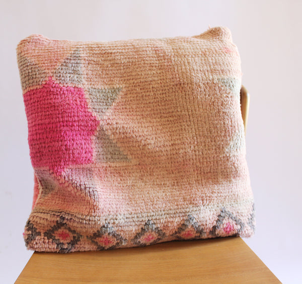 Moroccan Square Pillow 5