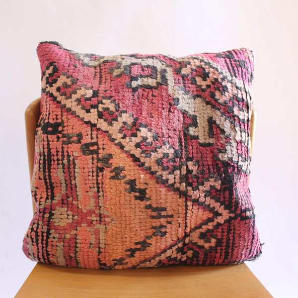 Moroccan Square Pillow 3