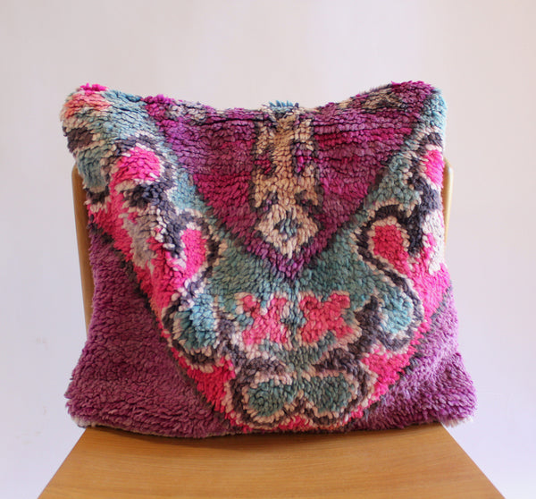 Moroccan Square Pillow 4