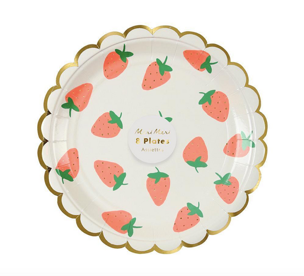 Meri Meri Strawberry Plate
