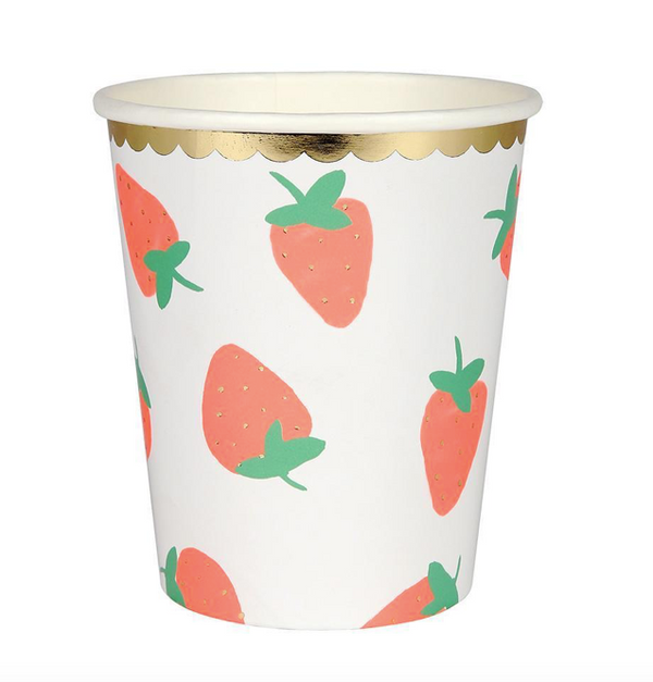 Meri Meri Strawberry Cups