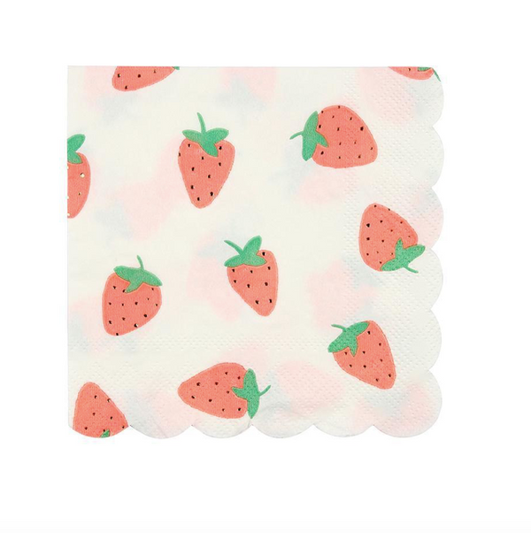 Meri Meri Strawberry Napkin