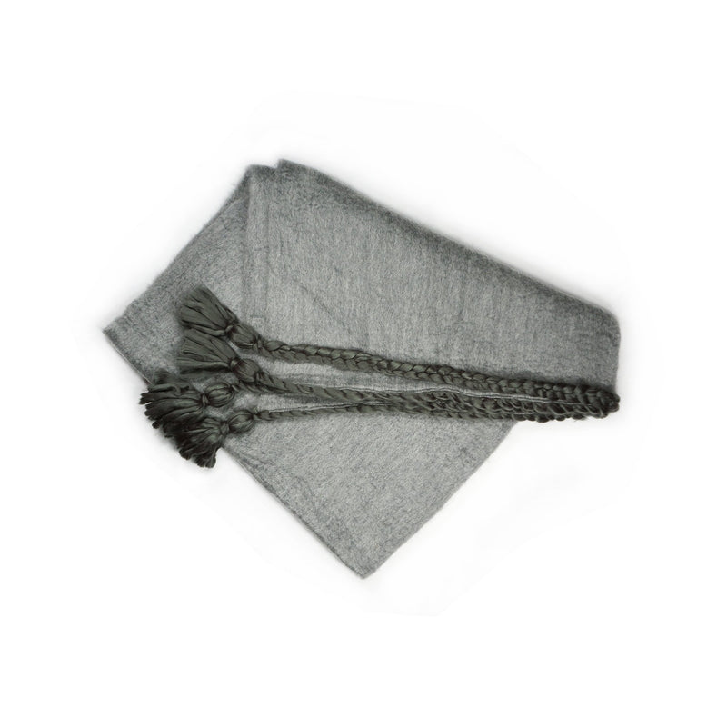 Couture Culture Cozy Grey Throw