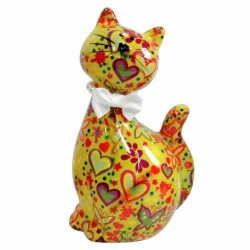 Pomme Pidou Piggy Banks - Yellow Cat