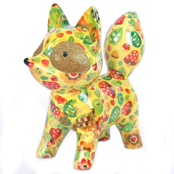 Pomme Pidou Piggy Banks - Yellow Fox