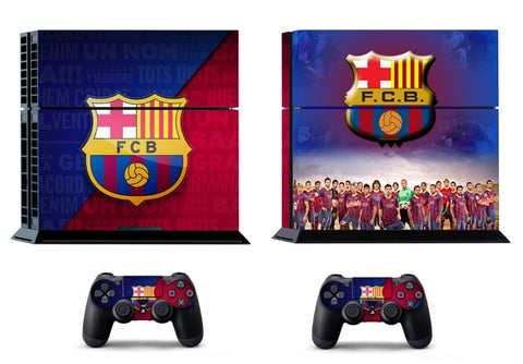 Barcelona Vinyl Skin Sticker for PS4