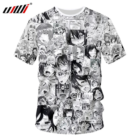 Novelty Harajuku Anime T-Shirt