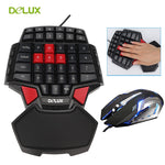 Gaming T9 Keyboard and Mouse Combo Set PC
