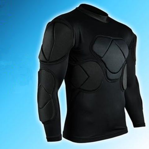 Padded Football goalkeeper jersey