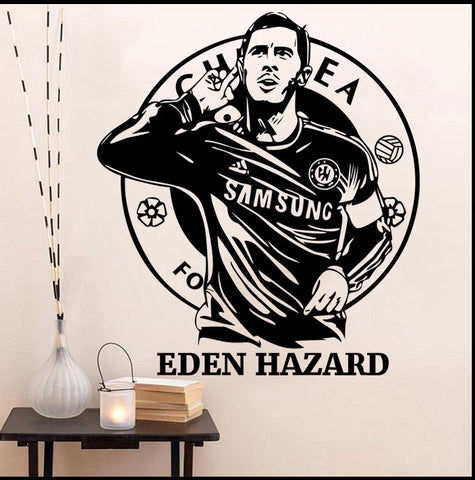 Eden Hazard Wall Sticker Chelsea FC