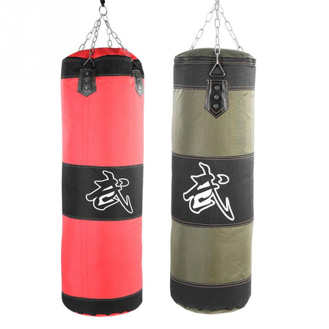 Boxing Sand Bag With Metal Chain Hook Carabiner For Training