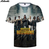 Playerunknown's Battlegrounds Men's t shirt PUBG 3D Print