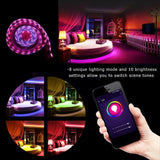 Waterproof LED Strip Kit ( Wireless Smart Phone Controlled )
