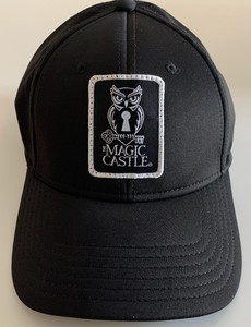Black Unisex Magic Castle Hat