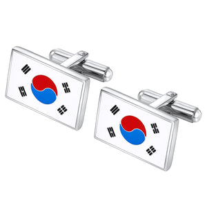 Korea Flag cuff links