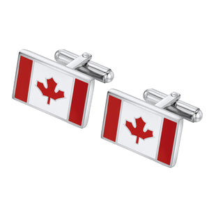 Canada Flag cuff links