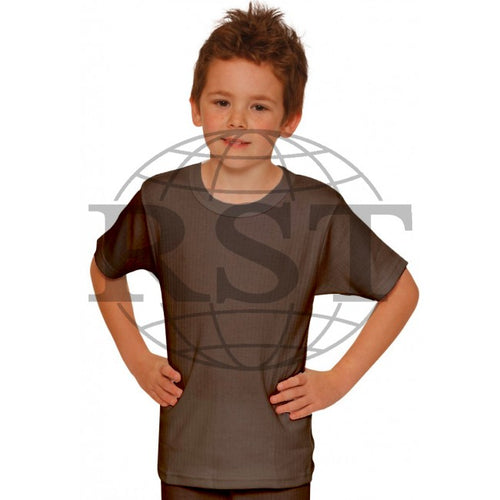 D101B: Boys Thermal Short Sleeved Vest
