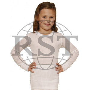 D105G: Girls Thermal Long Sleeved Vest