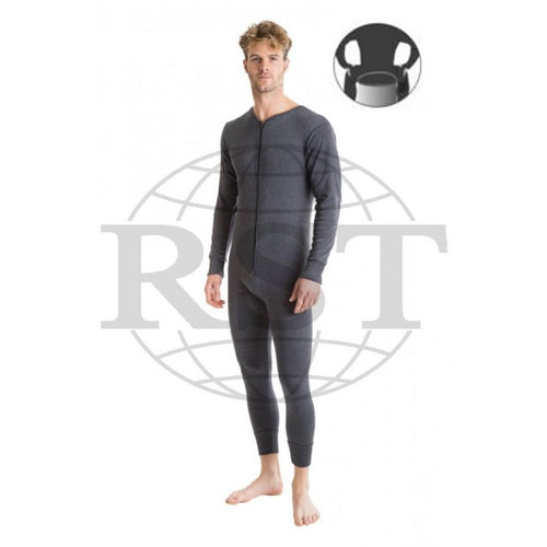 DAOR: Mens Thermal All In One Suit With Rear Flap