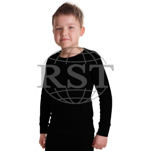 M105B: Boys British Made Thermal Long Sleeved T Shirt