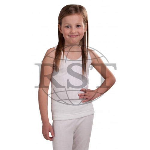 M102G: Girls British Made Thermal Vest