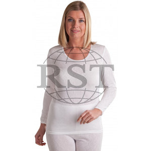 M301: Womens British Made Thermal Long Sleeved T Shirt