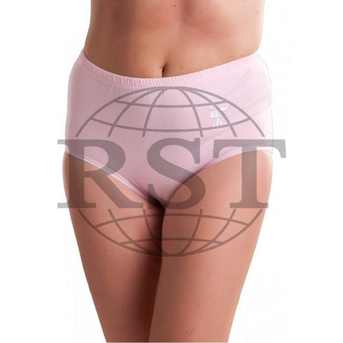 M506: Pack Of 3 Passionelle Womens Soft Mama Briefs With Embroidery