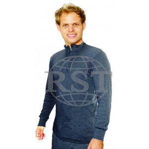 DZL: Mens Thermal Underwear Long Sleeve Zip Neck