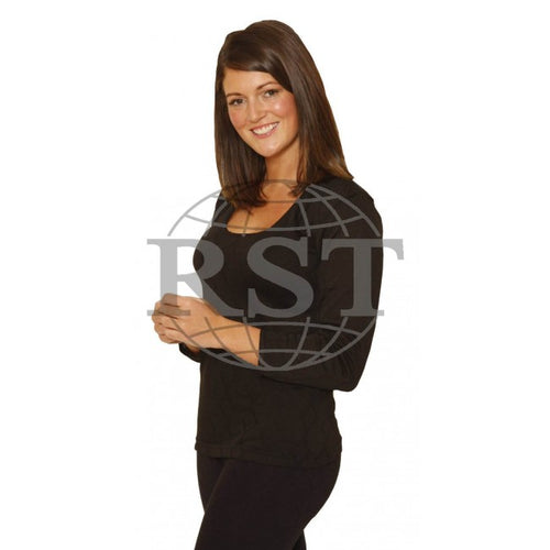D301: Womens Thermal Long Sleeve Vest