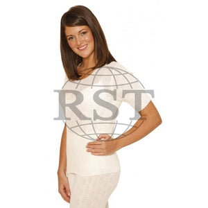 D303: Womens Thermal Short Sleeve Vest