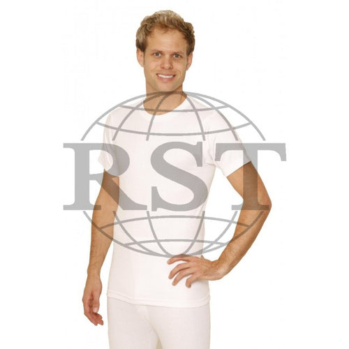 D402: Mens Thermal Short Sleeve Vest